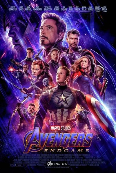 Poster de:1 Avengers:endgame