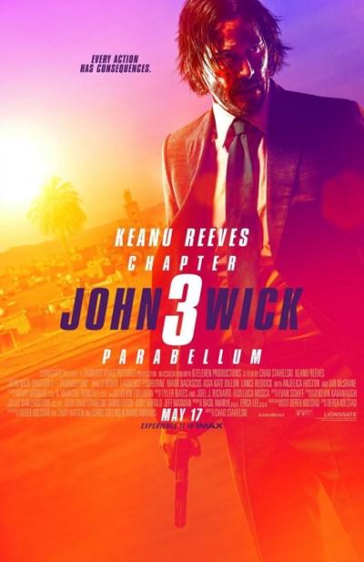 Poster de:1 John Wick Capitulo 3: P